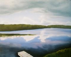 """The Quiet Lake 20""""x16"""""""